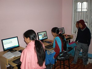 Computers donated by Children of Asia of France