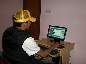 Computer donated by Children of Asia of France