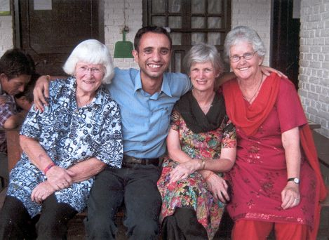 Pat, Amrit, Sue & Rose